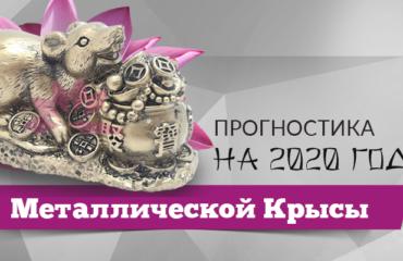ПРОГНОСТИКА на 2020 год Металлической Крысы